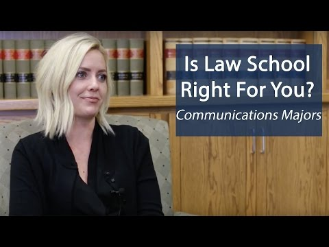 Advice For Communications Students Considering Law School