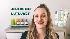 Huhtikuun AVON-uutuudet | Avon Sativa, Anew C-vitamin tonic, Artistique.