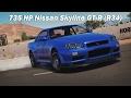 Extreme Power, No Handling (Autocross) - 2002 Nissan Skyline GT-R V-Spec II (Forza Horizon 3)