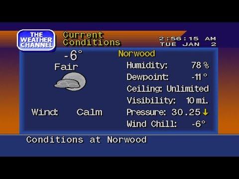 WeatherStar 4000 Emulator - 1/2/2018 - Boston (Record Cold)
