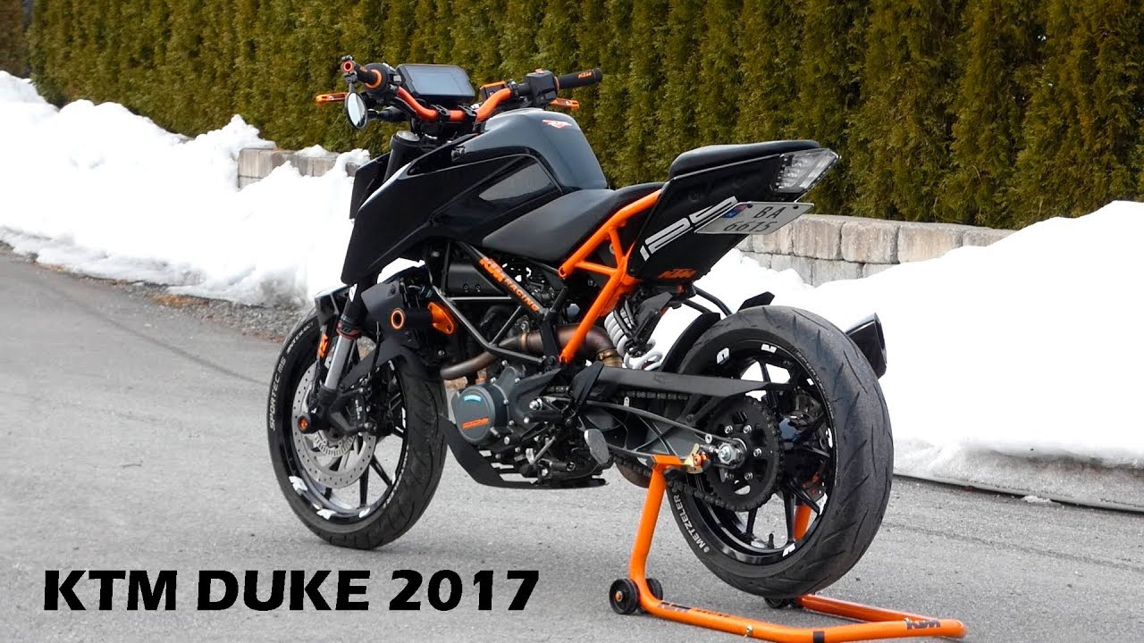 ktm duke 2017 tuned youtube. Black Bedroom Furniture Sets. Home Design Ideas