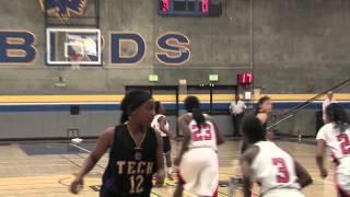 Girls Hoops: Oakland Tech v McClymonds (OAL Final) 2-28-13