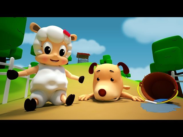 Jack And Jill | Farmees | Nursery Rhymes | Baby Songs | Kids Videos by Farmees