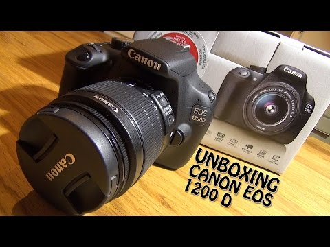 Canon Rebel T5 Bundle Unboxing Youtube