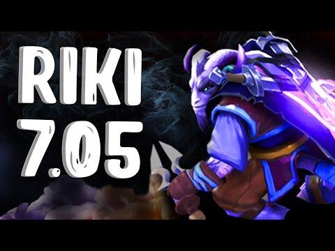 видео: НОВЫЙ РИКИ ПАТЧ 7.05 ДОТА 2 - new riki patch 7.05 dota 2