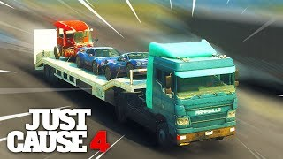 Just Cause 4 - TRUCK DRIVER SIMULATOR!