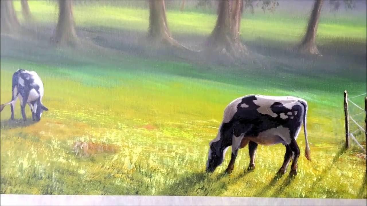 Pinturas De Oleo Em Tela