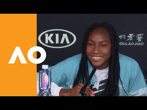 Coco Gauff talks Naomi Osaka and learning to drive! | Australian Open 2020 Press Conference 2R