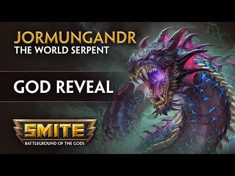 Smite готов представить нового бога и это колоссальных размеров змей