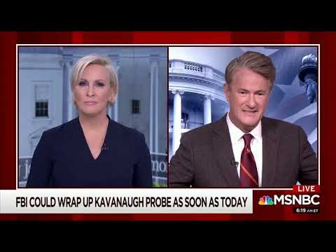 "Joe Scarborough Rips Media Coverage Of Kavanaugh As ""So Biased� ""So One-Sided�"