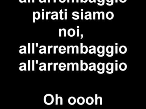 Ciurma, All'arrembaggio karaoke One Piece