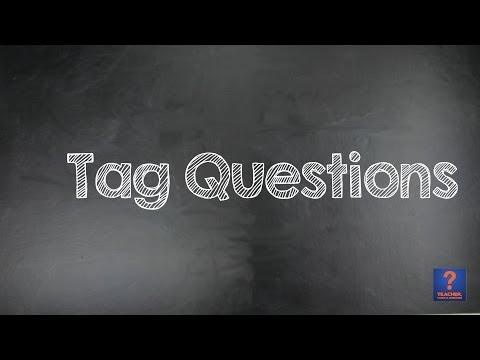 Tag Questions - Aula de Inglês #40