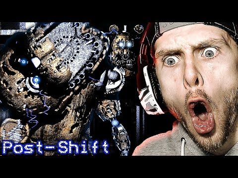 NEW NIGHTMARE FREDDY DON'T LIKE TO BE SHOCKED! FNAF Post Shift Gameplay COMPLETE! (Early Access)