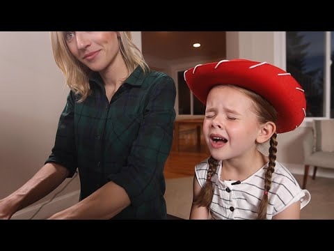 WHEN SHE LOVED ME (TOY STORY) - 6-YEAR-OLD CLAIRE CROSBY AND MOM