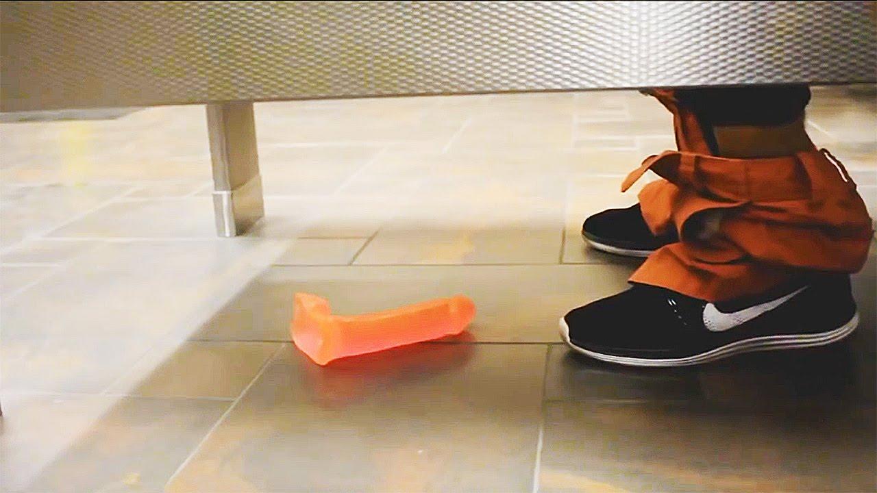 Prank: Dropping Dildos in public Bathroom Prank! - YouTube