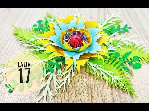 Lalia 17 cardstock DIY Paper flower backdrop