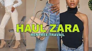 HAUL ZARA  POUR RENTRÉE/TRAVAIL (AUTOMNE/HIVER)