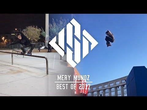 Mery Muñoz - Best of 2017 - USD Skates