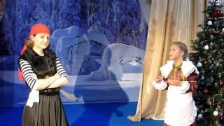 """Детский спектакль """"Снежная королева"""" 2014, Товарищево"""