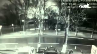 """فيديو.. اللحظة الاولى لسقوط طائرة """" فلاي دبي """" في روسيا"""