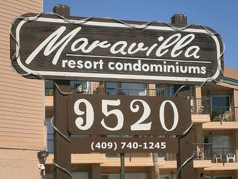 Maravilla Condo Resort Rentals on the Galveston Seawall
