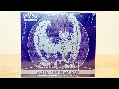Pokemon Sun & Moon (Lunala) Elite Trainer Box Opening