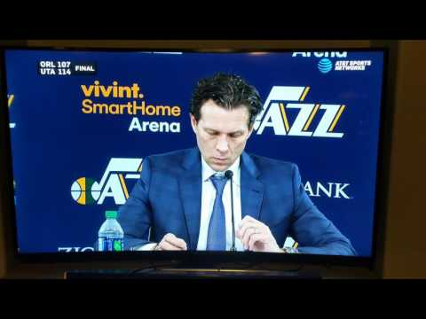 Quin Snyder post game interview