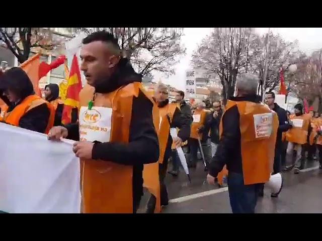Протест на КСС во Прилеп