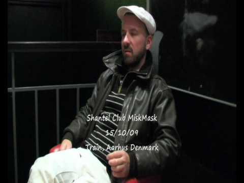 Shantel Interview Part 2 Club MiskMask 15/10/09 Train, Aarhus Denmark