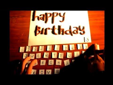 Stopmotion Happy Birthday Dear Fera Youtube Gambar Suamiku