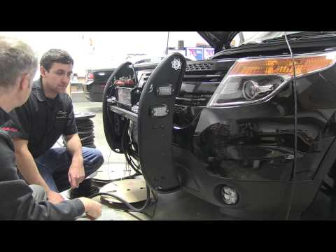 Sirennet Ford Interceptor SUV Whelen Demo Vehicle