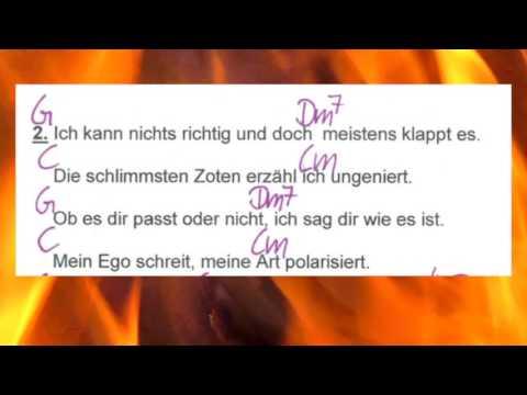 Ich bin die - Ina Müller - Lyrics and Chords - Campfire Version - Musikschach