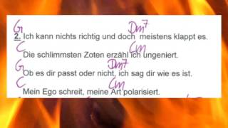 Ich bin die - Ina Müller - Lyrics and Chords - Campfire Version - Musikschach