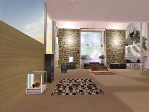 Mansions in Second Life: Akaesha's Sydney Paradise Loft