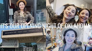 IT'S OUR OPENING NIGHT!!! | FIRST PREVIEW AND PRESS NIGHT OF OKLAHOMA | Georgie Ashford