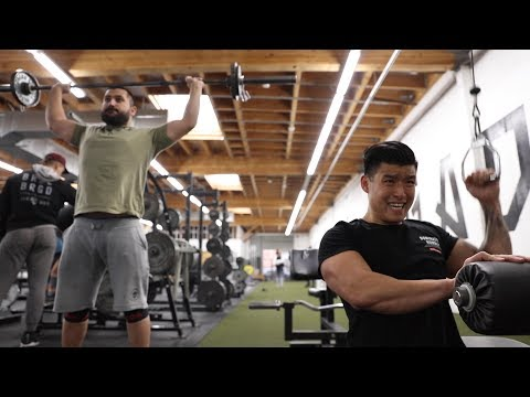 BART AND NADEEM TRAIN TO FIGHT