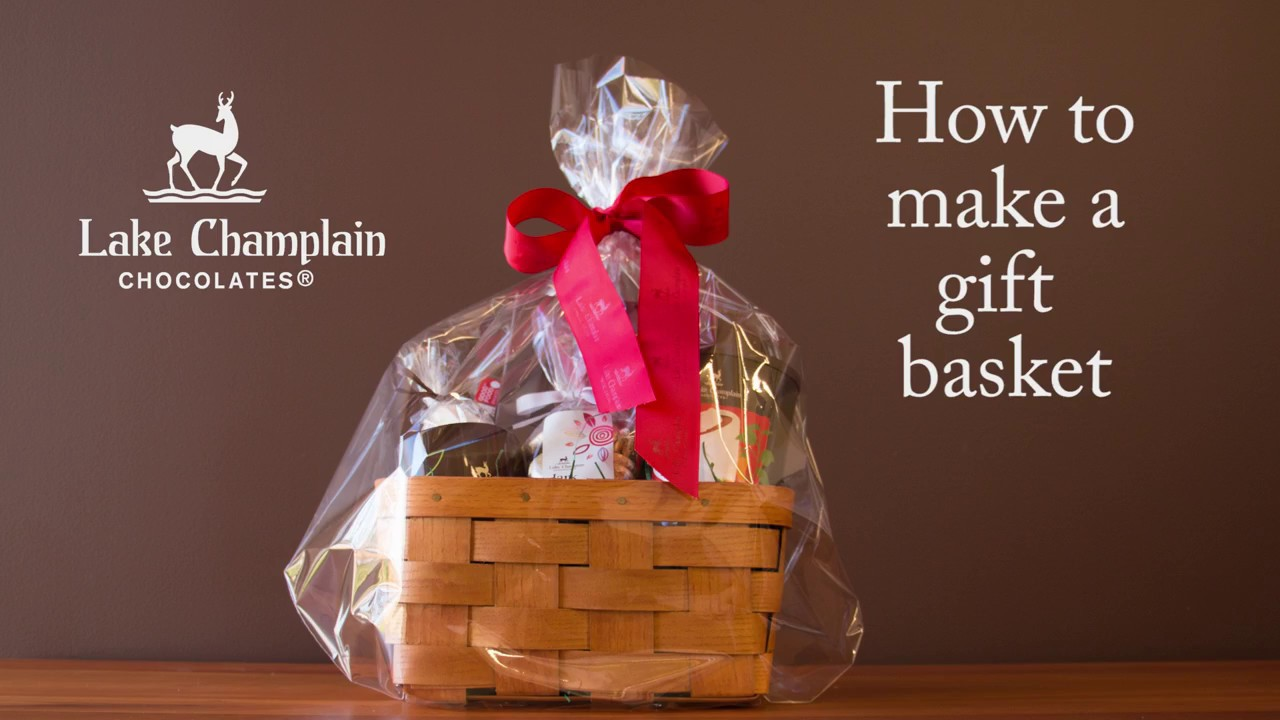 How to Make Your Own Gift Basket - YouTube