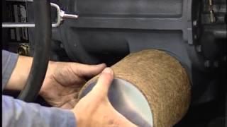 Установка компрессора на шасси тягача с приводом от КОМ коробки отбора мощности(, 2015-02-16T14:09:32.000Z)