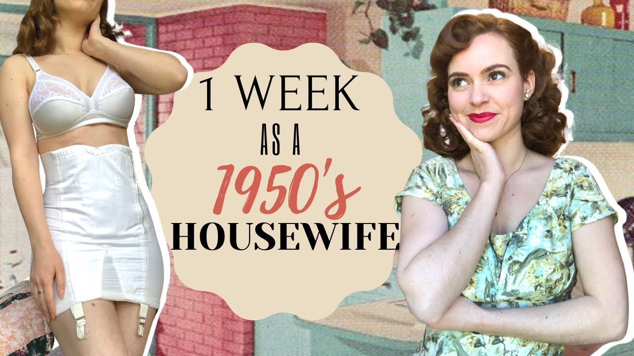 Download I Lived Like A 1950's HOUSEWIFE For 1 WEEK!