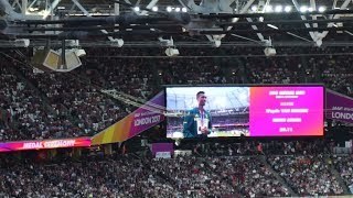 200 METRES MEN (Medal Ceremony)-  IAAF WORLD CHAMPIONSHIPS LONDON 2017