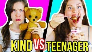 KIND VS. TEENAGER: DEIN GEILES LEBEN FRÜHER vs. HARTES LEBEN HEUTE | Erwartung & Realität im Alltag