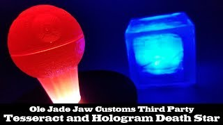 Hologram Death Star and Tesseract Third Party Items