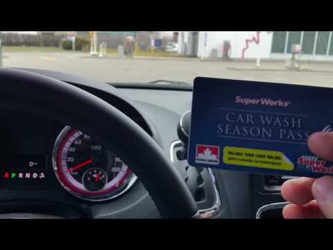 Review Of The Petro Canada Car Wash In Guelph Ontario + Season Pass Explained