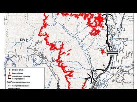 Colorado 416 Fire Map Update Durango Fire Spreads To 34 161 Acres