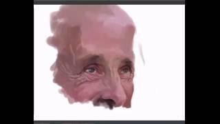 Quick Portrait painting   Asim Chandro Roy