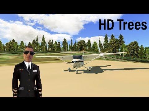 X Plane 11 Addons Freeware | REALES Autogen mit HD Bäumchen