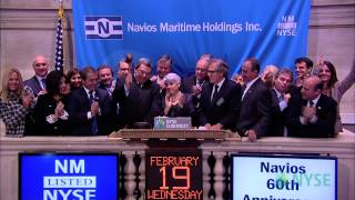 Navios Maritime Holdings Celebrates 60th Anniversary Of Founding