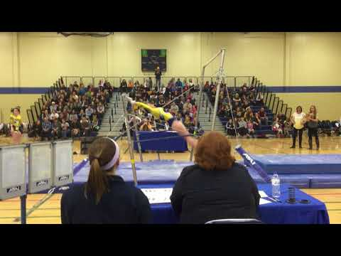 Sydney Dame - UB (2) - UWEC Gymnastics Senior/Parent Night