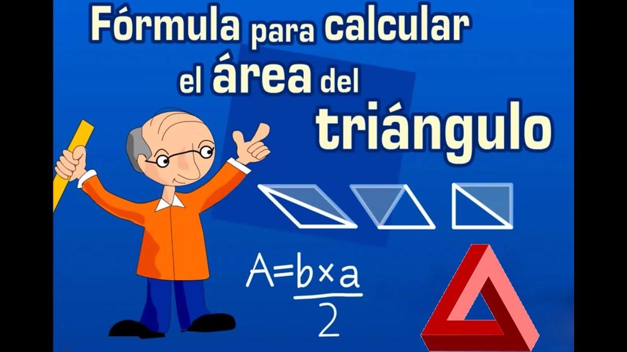 Resultado de imagen de area del triángulo