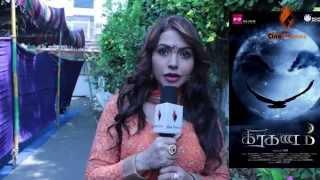 Heroine Nandini Miss Andhra Pradesh - Graghanam Movie - Graghanam Pooja ceremony @ AVM Studios